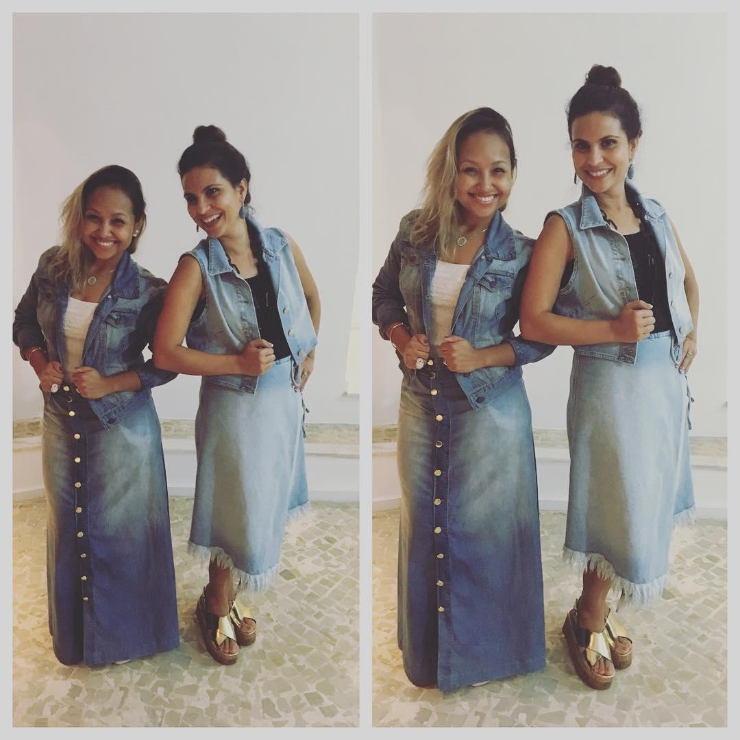 Bruna Karla e Aline Barros - Reprodução / Instagram