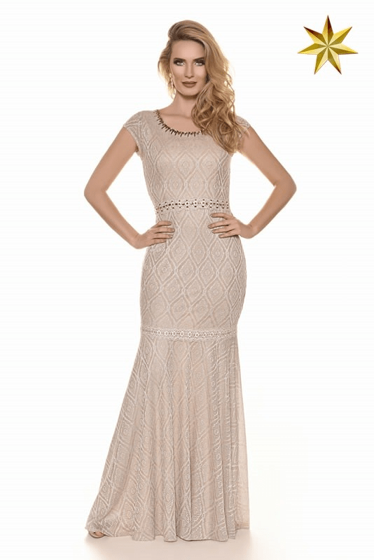 Vestido Diva Renda Paris Fasciniu's 9703 Alto Verão 2017