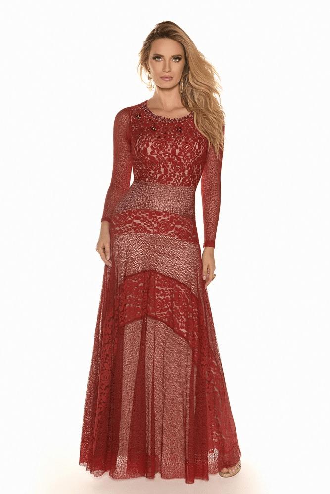 Vestido Fasciniu's Lace Guippir 9807