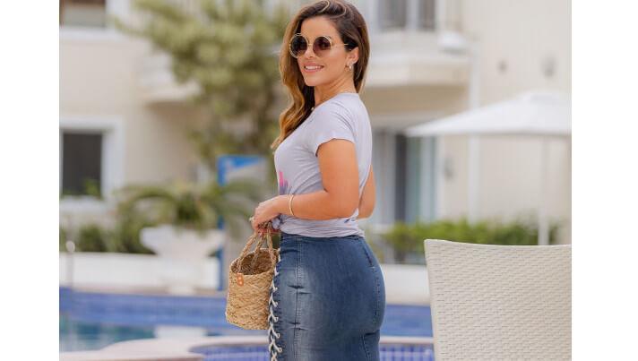 Saia Jeans — Aliada em Todas as Estações
